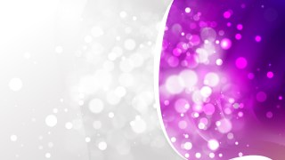 Abstract Purple Blurry Lights Background Image