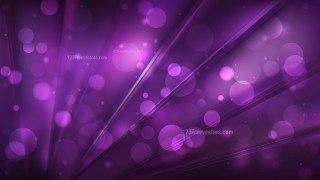 Abstract Purple and Black Blurred Bokeh Background Image
