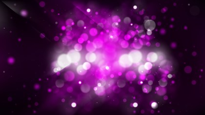 Abstract Purple and Black Blurry Lights Background Design