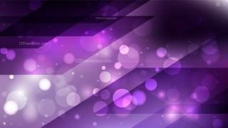 Abstract Purple and Black Bokeh Defocused Lights Background Design