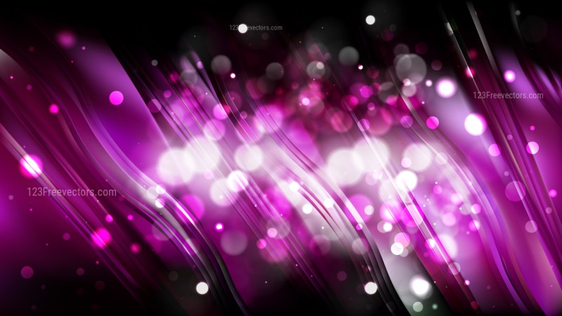Abstract Purple and Black Blur Lights Background