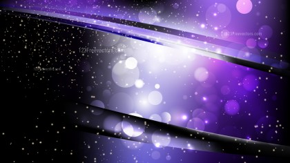 Abstract Purple and Black Defocused Lights Background