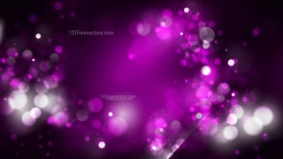 Abstract Purple and Black Bokeh Background Vector