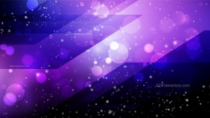 Abstract Purple and Black Lights Background Vector