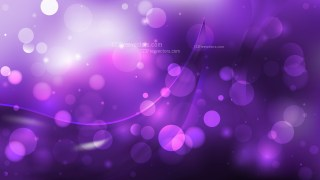 Abstract Purple and Black Bokeh Defocused Lights Background Vector