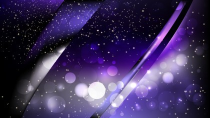Abstract Purple and Black Blur Lights Background Image
