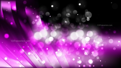 Abstract Purple and Black Defocused Lights Background Image