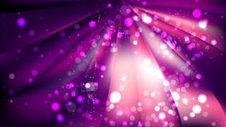 Abstract Purple and Black Blurred Lights Background Design