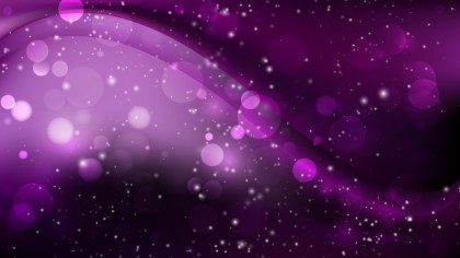 Abstract Purple and Black Blur Lights Background Design