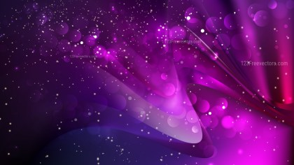Abstract Purple and Black Blurred Bokeh Background Design