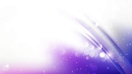 Abstract Purple and White Blur Lights Background Vector