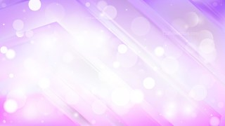 Abstract Purple and White Bokeh Lights Background Vector