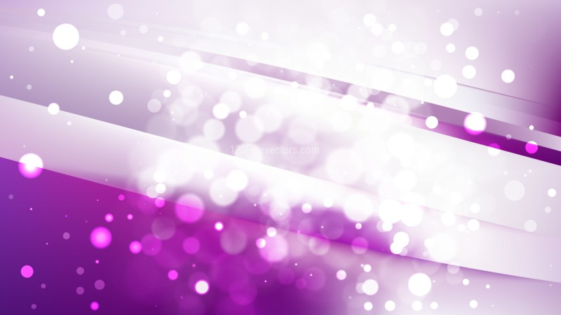 Abstract Purple and White Defocused Background Vector