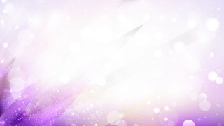Abstract Purple and White Defocused Lights Background Vector
