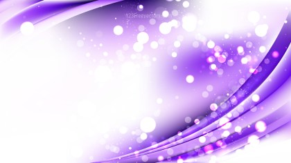 Abstract Purple and White Bokeh Defocused Lights Background Vector