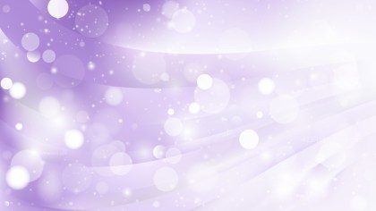 Abstract Purple and White Bokeh Defocused Lights Background Image