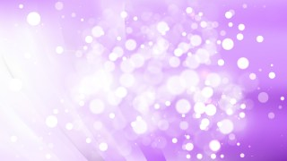 Abstract Purple and White Bokeh Background Image