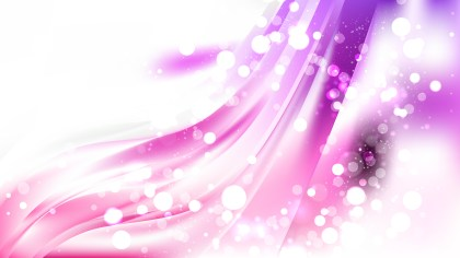 Abstract Purple and White Blurry Lights Background Image