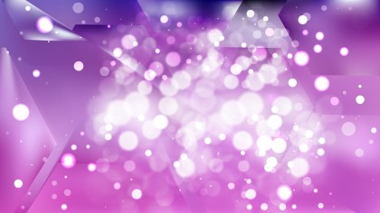 Abstract Purple and White Bokeh Background Design