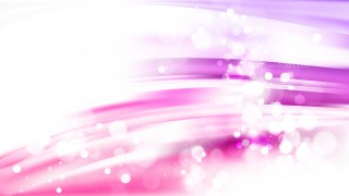 Abstract Purple and White Blurry Lights Background Design