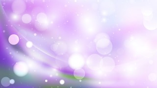 Abstract Purple and White Blurred Lights Background Design