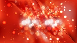Abstract Red Defocused Lights Background Design