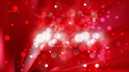 Abstract Red Bokeh Background