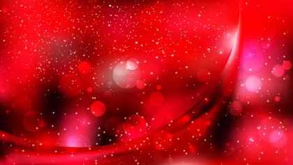 Abstract Red and Black Blur Lights Background Vector