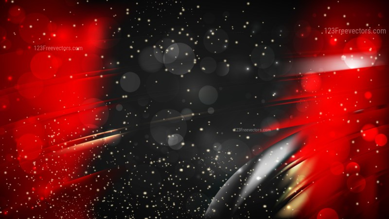 Abstract Red and Black Lights Background Image