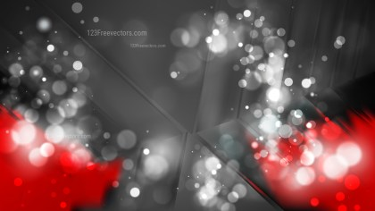 Abstract Red and Black Blurred Lights Background Image