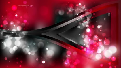 Abstract Red and Black Blurry Lights Background Image