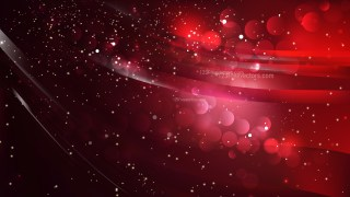 Abstract Red and Black Blurry Lights Background Design