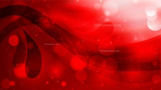 Abstract Red and Black Defocused Background Design
