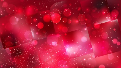 Abstract Red and Black Blurred Bokeh Background Design