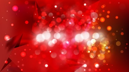 Abstract Red and Black Bokeh Lights Background