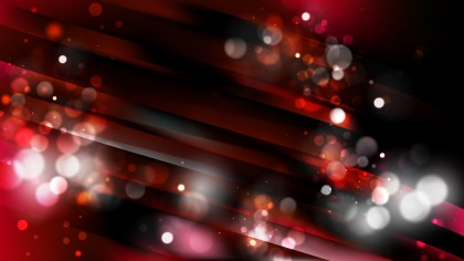 Abstract Red and Black Blurry Lights Background Vector