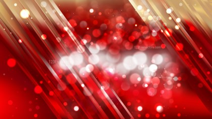 Abstract Red and Gold Bokeh Lights Background Image