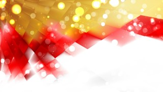 Abstract Red and Gold Defocused Background Design
