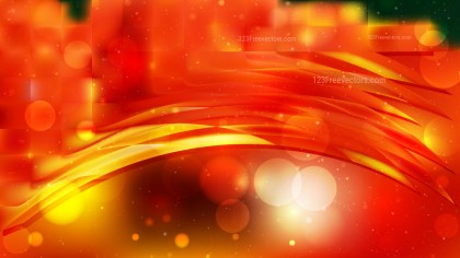 Abstract Red and Orange Defocused Background