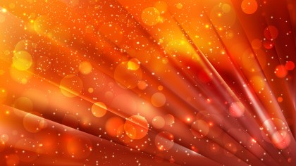 Abstract Red and Orange Lights Background Vector