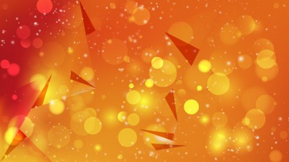 Abstract Red and Orange Defocused Lights Background Vector