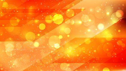 Abstract Red and Orange Blurred Bokeh Background Vector