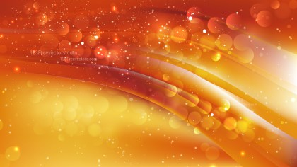 Abstract Red and Orange Bokeh Defocused Lights Background Vector