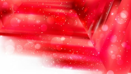 Abstract Red and White Blurred Lights Background Image