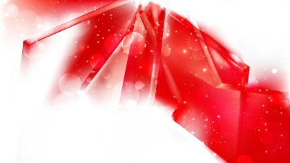 Abstract Red and White Blurred Lights Background Design