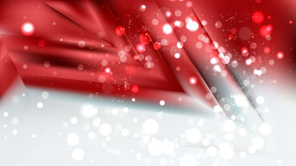 Abstract Red and White Defocused Lights Background Design