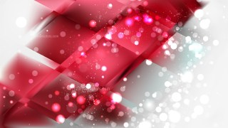Abstract Red and White Blurred Bokeh Background Design