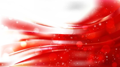Abstract Red and White Bokeh Background Design
