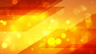 Abstract Red and Yellow Blur Lights Background Vector