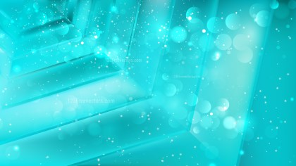 Abstract Turquoise Blur Lights Background Image